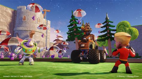 Building Toy Box In Disney Infinity