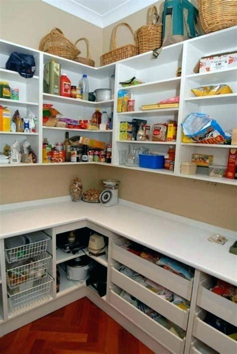 Building Walk In Pantry Shelves