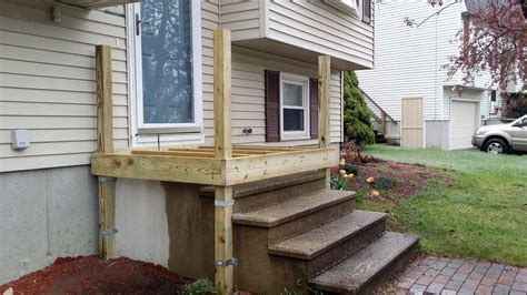 Building Wooden Stairs Over Cement Stairs Replacement
