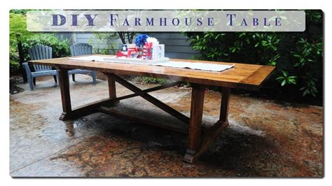 Building-A-Farm-Table-Youtube