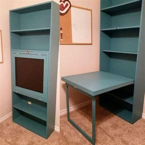 Building-A-Kids-Bookshelf-With-Fold-Down-Desk-Diy