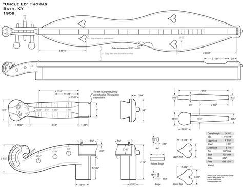 Building-A-Mountain-Dulcimer-Plans