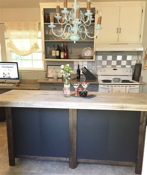 Building-Kitchen-Island-Diy