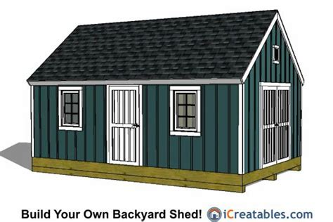 Building-Plans-For-12x20-Shed