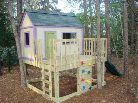 Building-Plans-For-A-Childrens-Playhouse