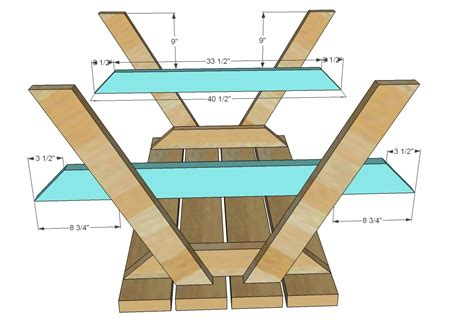 Building-Plans-For-Childrens-Picnic-Table