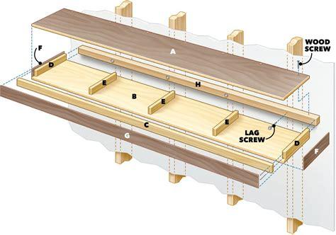 Building-Plans-For-Floaing-Desk-With-Shelves