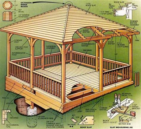 Building-Plans-For-Square-Gazebo