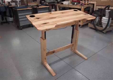 Building-Plans-For-Standing-Desk