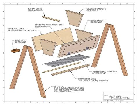 Building-Plans-For-Top-Bar-Beehive
