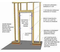 Best Building a door frame.aspx