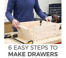 Best Building a drawer with slides