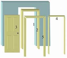 Best Building a interior door frame