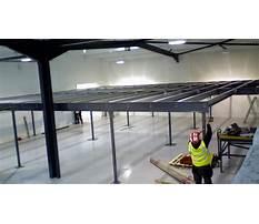 Best Building a mezzanine for storage timelapse