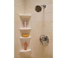 Best Building a shower corner shelf