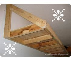 Best Building garage shelving with angled bracing