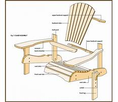 Best Building plans for adirondack furniture