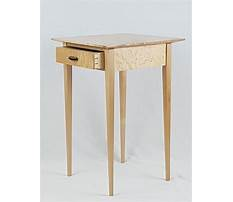 Best Building shaker end table