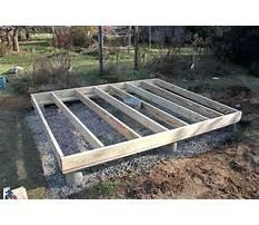Best Building shed foundation.aspx