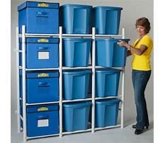 Best Building shelves for plastic totes