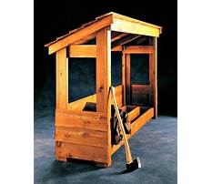Best Building your own firewood rack