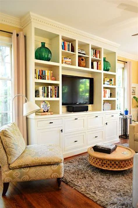 Built In Cabinets For Living Room Home Depot