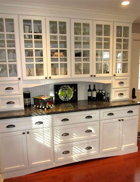 Built In China Cabinet Plans