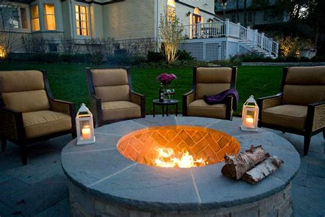 Built In Fire Pits