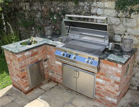 Built In Gas Grill Plans