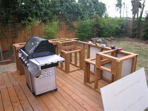 Built In Grill Island Plans