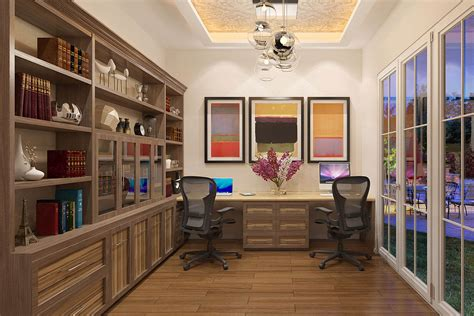 Built In Home Office Plans