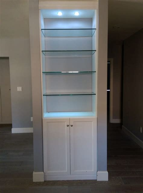 Built In Storage Cabinets With Doors And Shelves