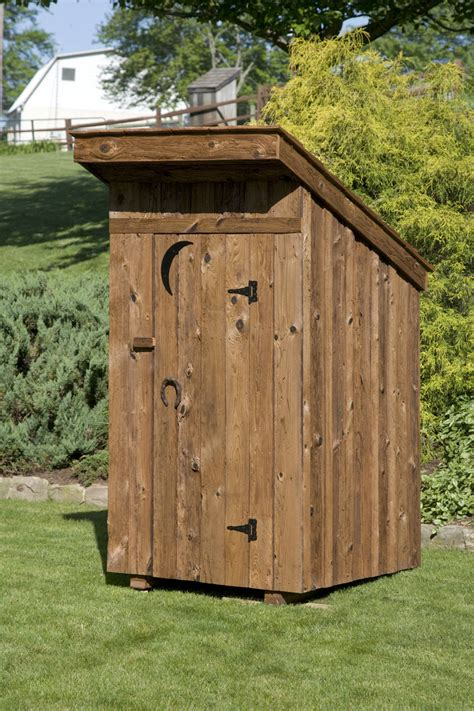 Built Outhouses For Sale