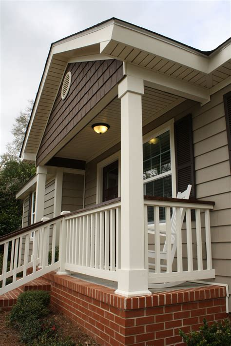 Built in Planter Boxes Front Entry