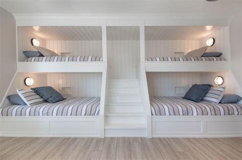Built-In-Bunk-Bed-With-Stairs-Plans