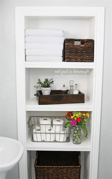 Built-In-Shelves-Diy-Bathroom