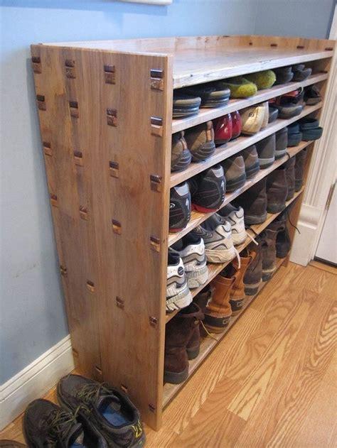 Built-In-Shoe-Rack-Plans
