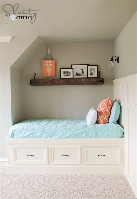 Built-In-Storage-Bed-Plans