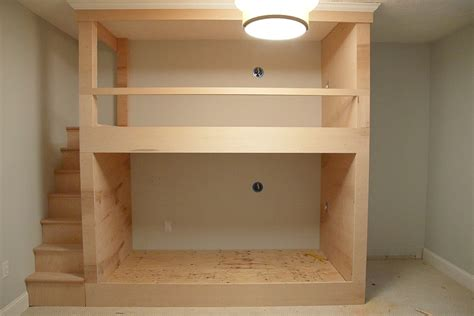 Built-In-Wall-Bunk-Bed-Plans