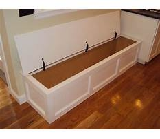 Best Built in kitchen bench plans