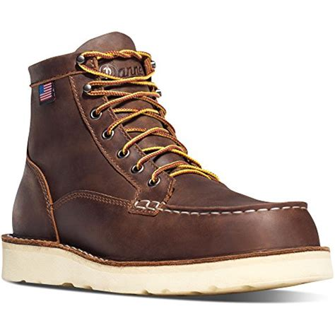 Bull Run Moc Toe 6' Brown Work (15563) Boots Oil & Slip Resistant| Working Leather Boots Oiled Leather Upper |...
