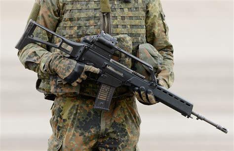 Bundeswehr Assault Rifle And Bundlerbuss Assault Rifle