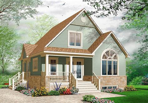 Bungalow House Plans With Covered Porch