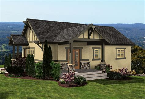 Bungalow House Plans With Garage Under