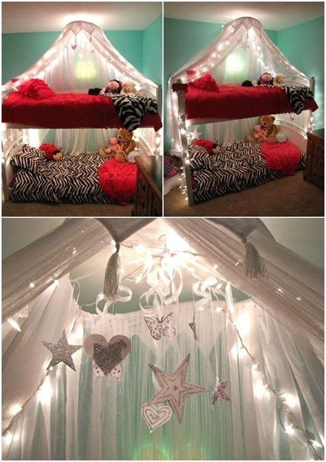 Bunk Bed Canopy Diy With Lights