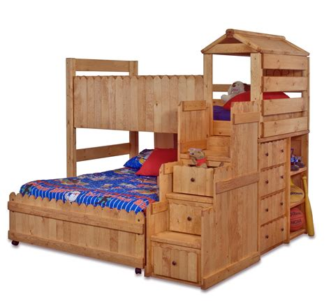 Bunk Bed Fort Plans