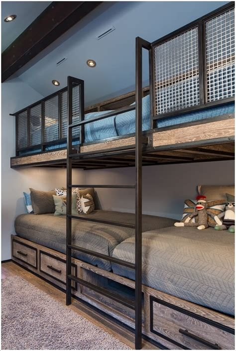 Bunk Bed Rail Ideas