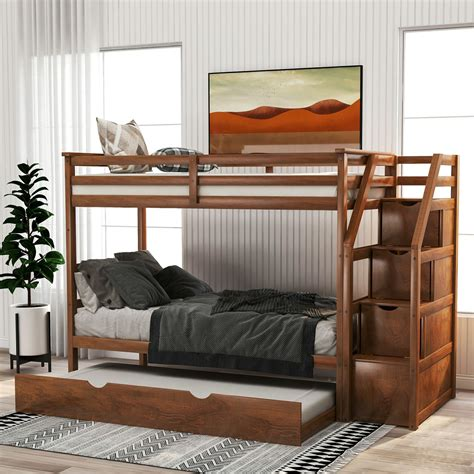 Bunk Bed Storage Steps