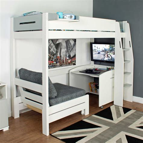 Bunk Bed With Desk Underneath Plansource Benefits