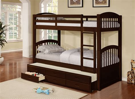 Bunk Bed With Trundle Plans